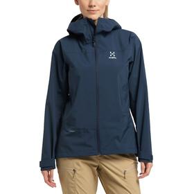 Haglöfs Spate Jacket Women tarn blue